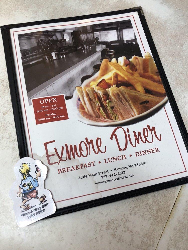 Exmore Diner: 4264 Main St, Exmore, VA