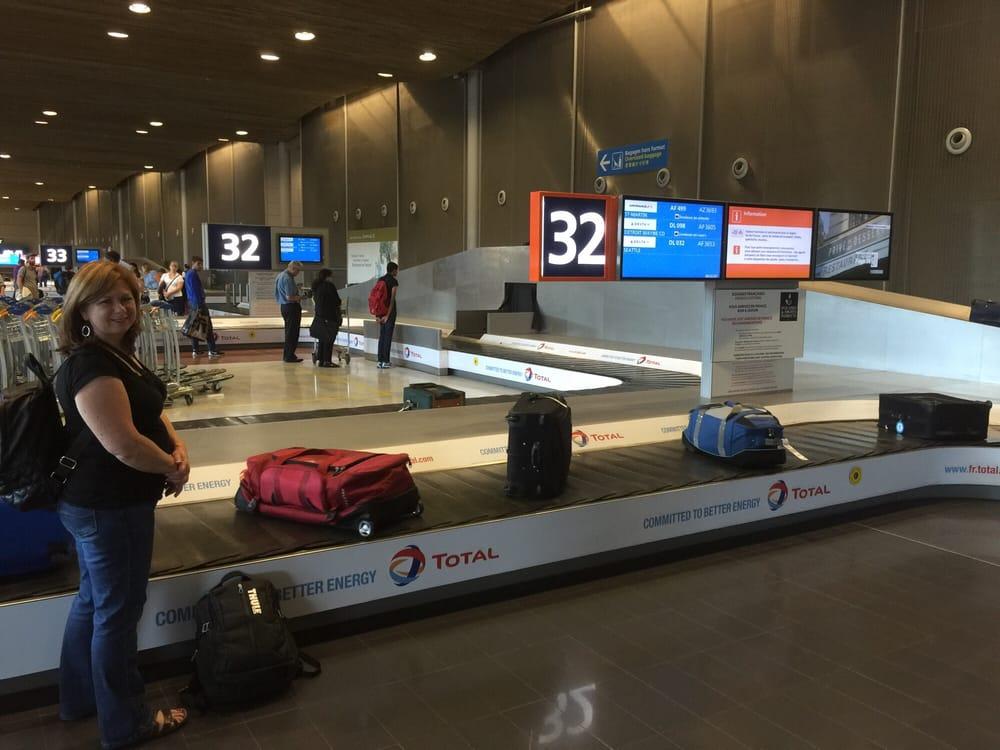 Baggage claim yelp for Salon air france terminal 2e
