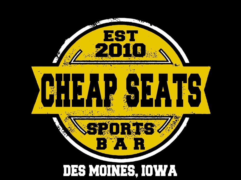Cheap Seats Sports Bar: 2301 Hubbell Ave, Des Moines, IA