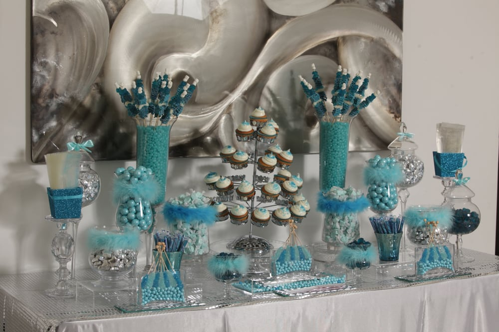 Blue Baby Shower Candy Buffet Part - 47: Photo Of Candybar Couture - Los Angeles, CA, United States. Baby Shower  Candy