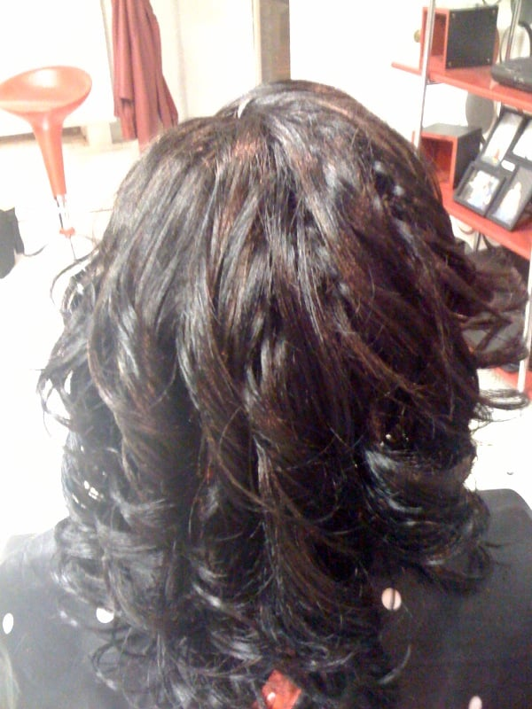 Tree braids back hair weaving technique done by braiding yelp photo of hair by oneva edwardsville il united states tree braids pmusecretfo Image collections