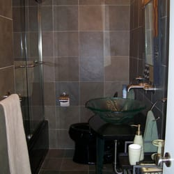 Photo Of IDGC   Stamford, CT, United States. Bathroom Remodel Using Slate  Tiles