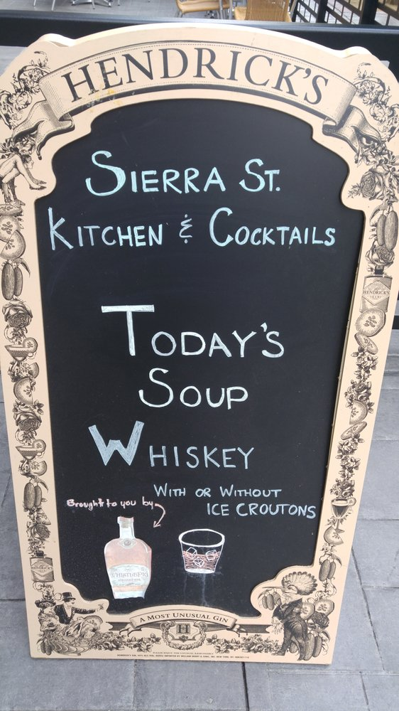 Well, the soup sounds lovely! - Yelp