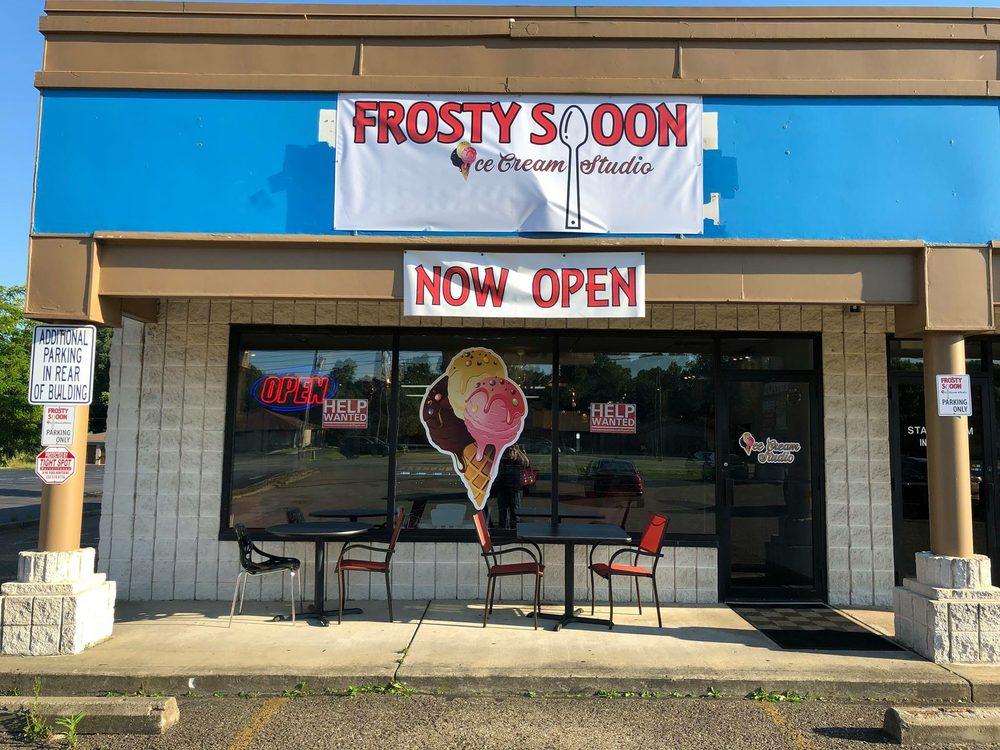 Frosty Spoon Ice Cream Studio: 1295 Boardman-Canfield Rd, Boardman, OH