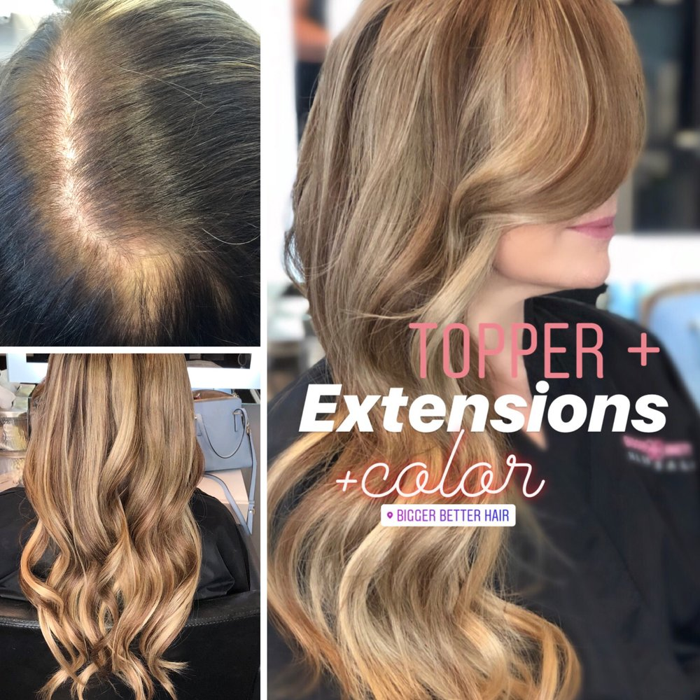 Bigger Better Hair Salon 58 Photos 30 Reviews Hair Extensions