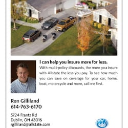Allstate Insurance Ron Gilliland Home Rental Insurance 204 W