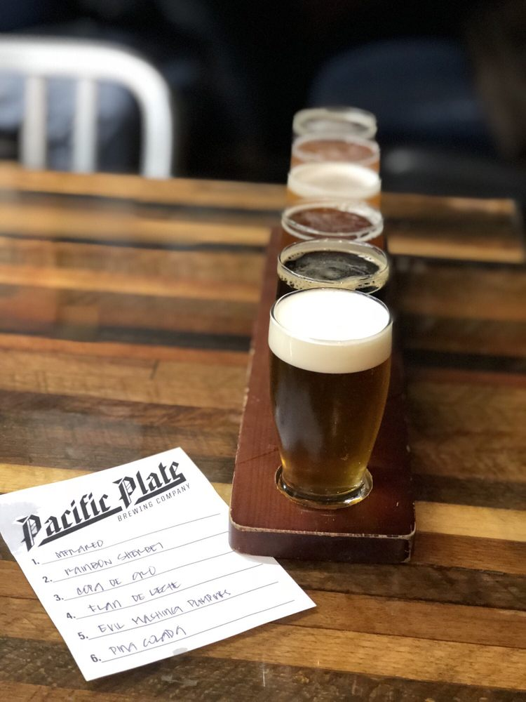 Pacific Plate Brewing Company: 1999 S Myrtle Ave, Monrovia, CA