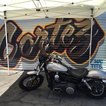 Photo Of Supreme Motorcycle   Tarzana, CA, United States. Ready To Roll!