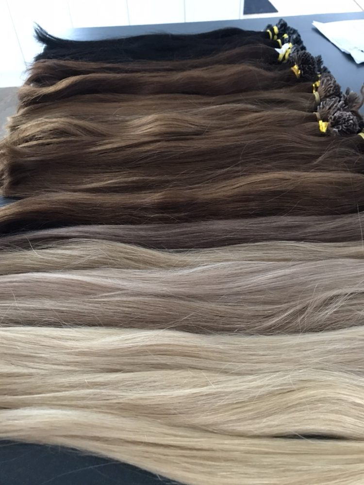 Our Human Hair Extensions Double Drawn Thickness Top To Bottom Yelp
