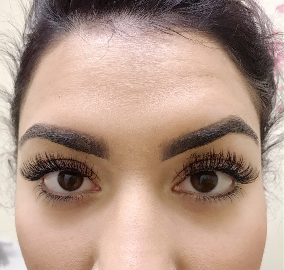 Classic Full Set With Real Mink Lashes By Mini Beauty Yelp
