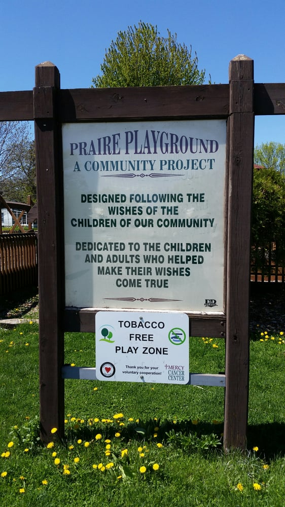 Prairie Playground: East Park Trl, Mason City, IA