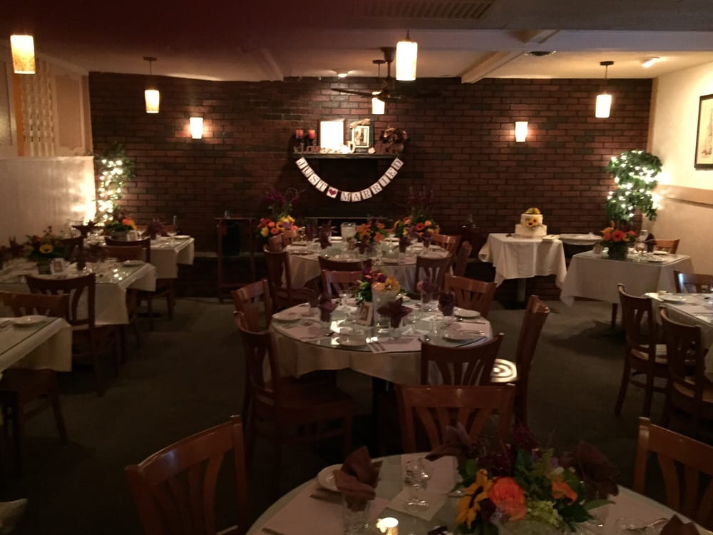 Wedding Reception Decor For A Small Intimate Dinner Yelp