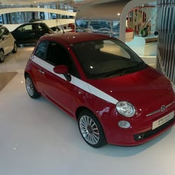 Fiat Showroom Car Dealers Wigmore Street Marylebone - Fiat dealers in london