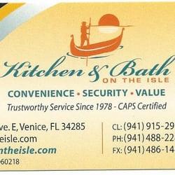 Bathroom Remodeling Venice Florida kitchen & bath on the isle - contractors - 113 milan ave e, venice