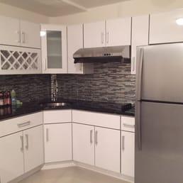 Modern Kitchen Ny modern kitchen and stone design - flooring - flushing, ny - phone
