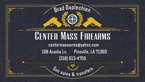 Center Mass Firearms: 108 Acadia Ln, Pineville, LA