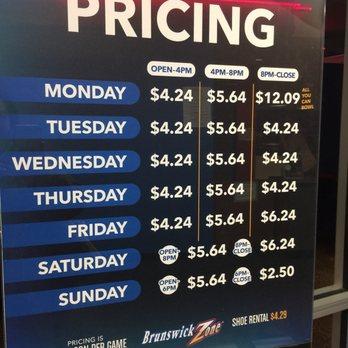 Bowling coupons nj