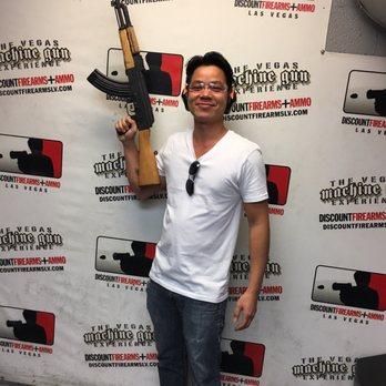 machine gun experience las vegas