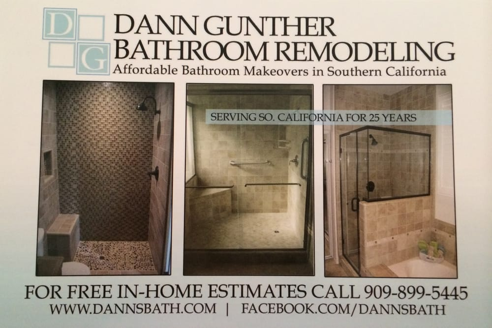 Dann gunther bathroom remodeling obter or amento for Bathroom remodel yelp
