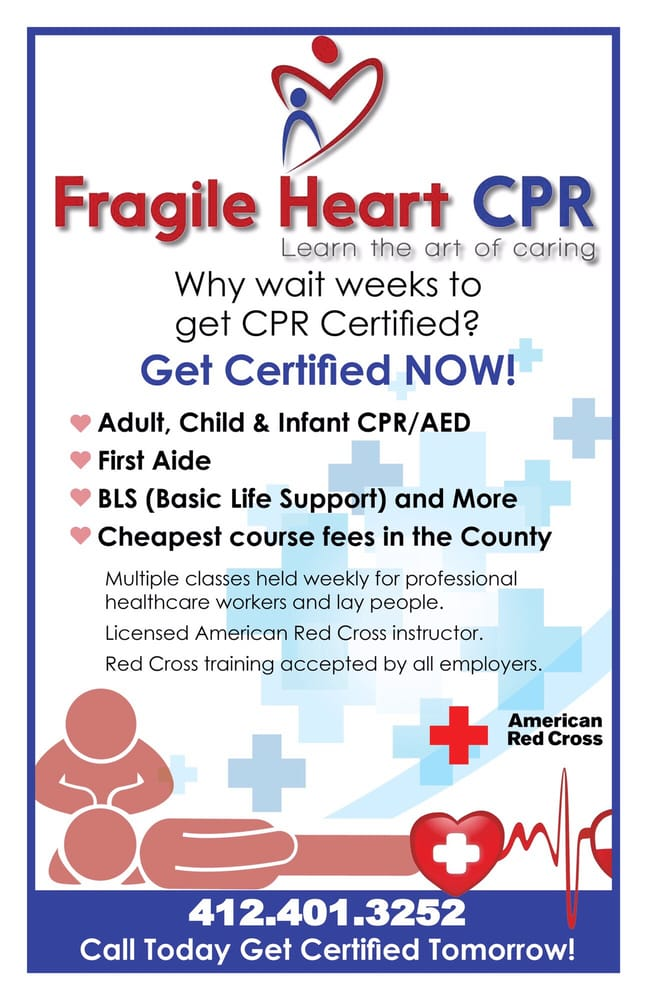 Fragile Heart Cpr First Aid Classes 1226 Worthington Ave