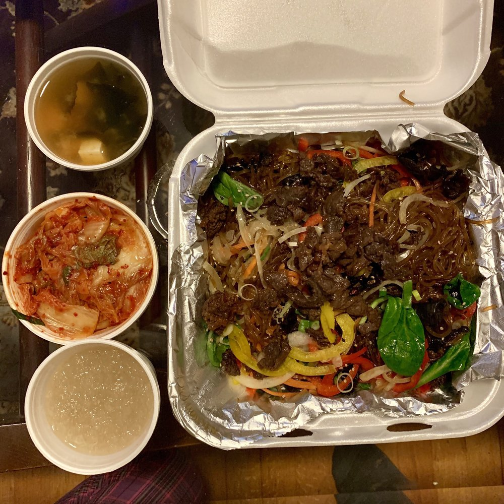 Food from Korean Barbeque & More