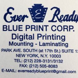 Ever ready blue print 12 reviews printing services 116 e 16th photo of ever ready blue print new york ny united states business malvernweather Images