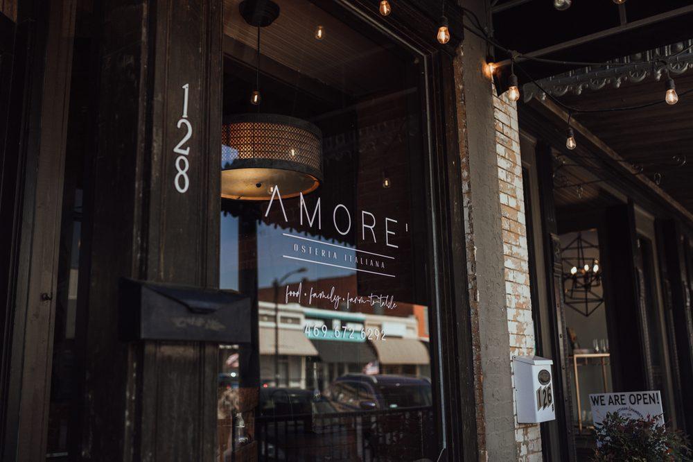 Amore' Osteria Italiana: 128 N 8th St, Midlothian, TX