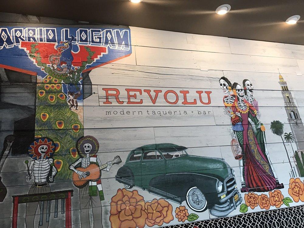 Revolu Modern Taqueria Bar