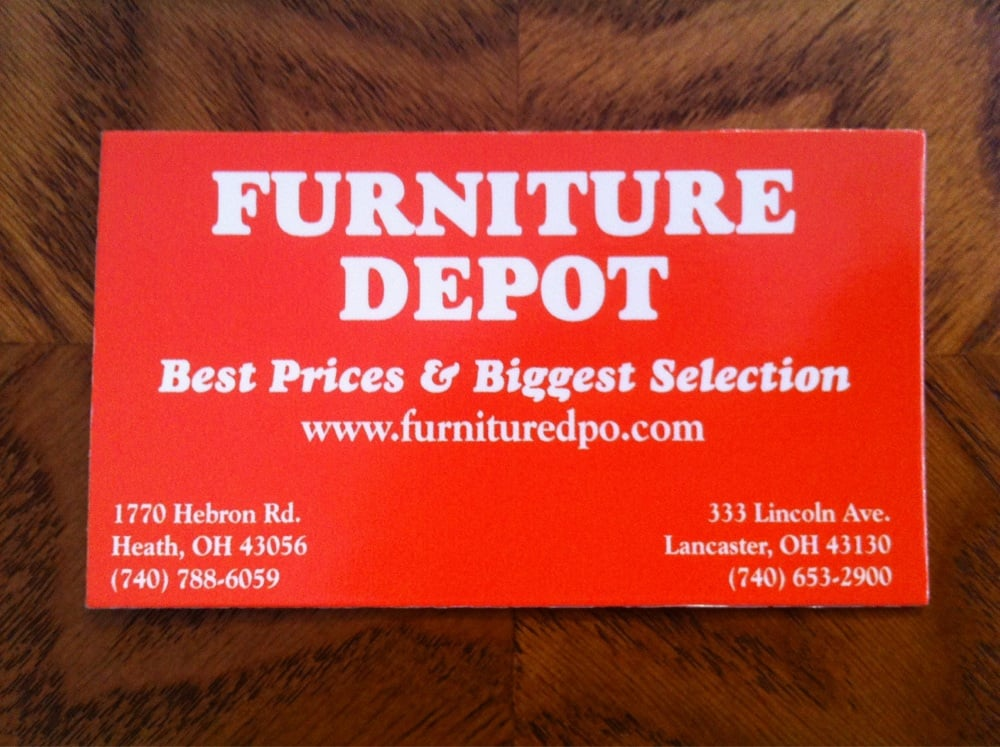 Heath Furniture Depot   Furniture Stores   1770 Hebron Rd, Heath, OH    Phone Number   Yelp