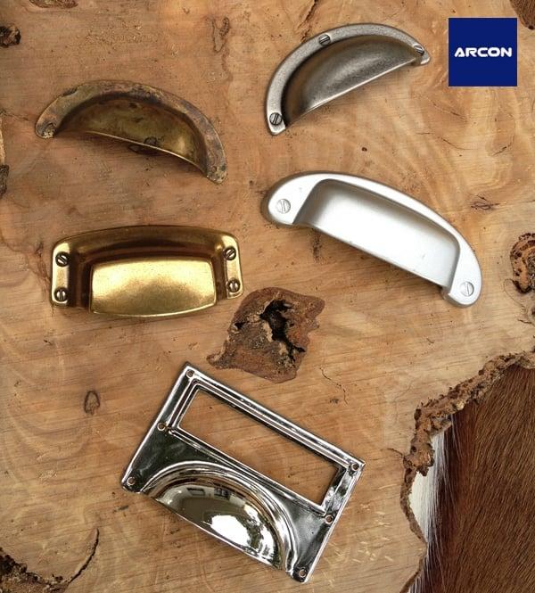 Tiradores estilo vintage concha arcon yelp - Tiradores para muebles antiguos ...