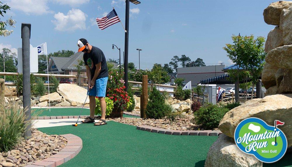Mountain Run Mini Golf: 202 Mountain Rd, Fallston, MD
