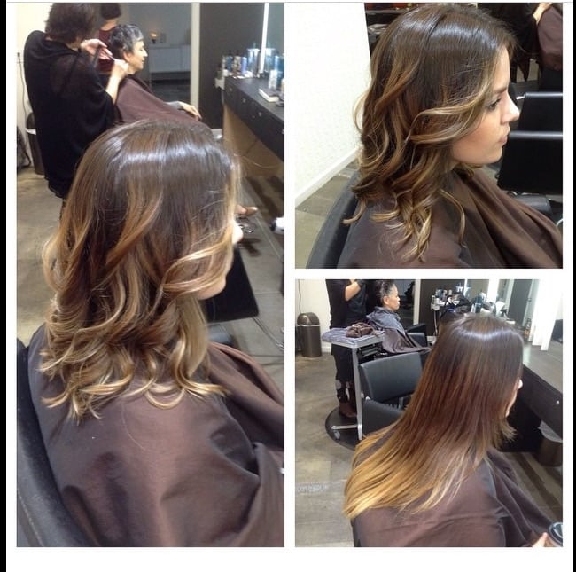 Dramatic change long bob and dimensional balayage by for 77 salon portland