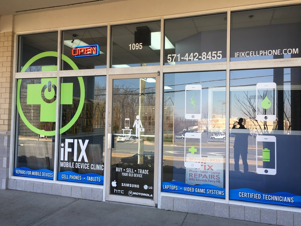 iFix Cellphone: 1095 Edwards Ferry Rd NE, Leesburg, VA