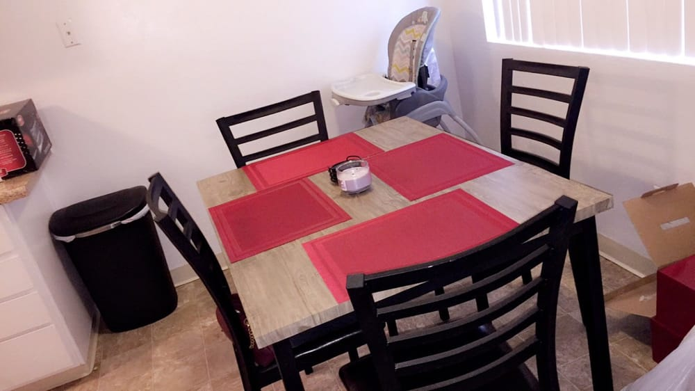 Love my dining table from furniture mattress outlet yelp for Furniture mattress outlet rancho cordova ca