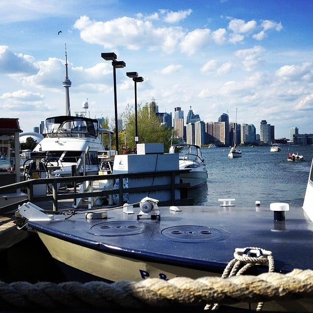 Toronto Island Marina Address