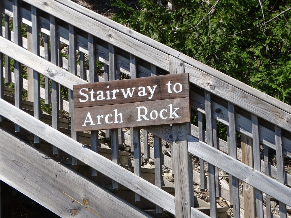 Arch Rock: Mackinac Island, MI
