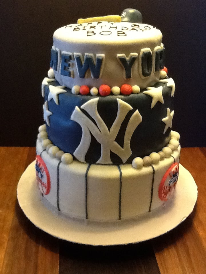 NY Yankee cake for surprise birthday party.I need the Rangers and ...