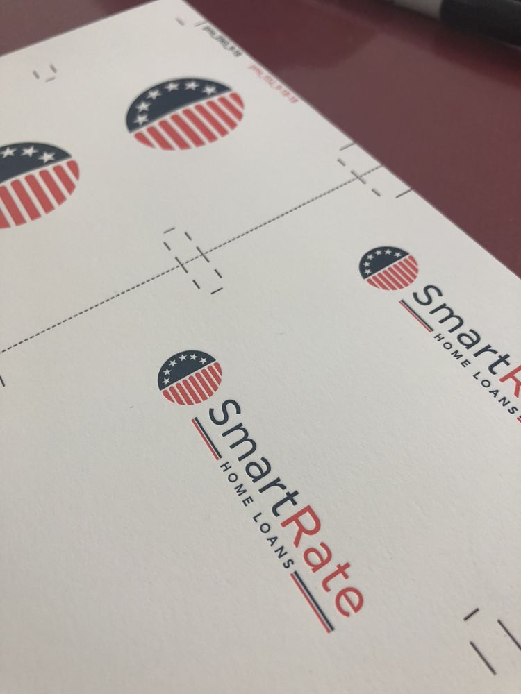 Fabulous Letterpress Business Cards For Smartrates Home Loans Truly