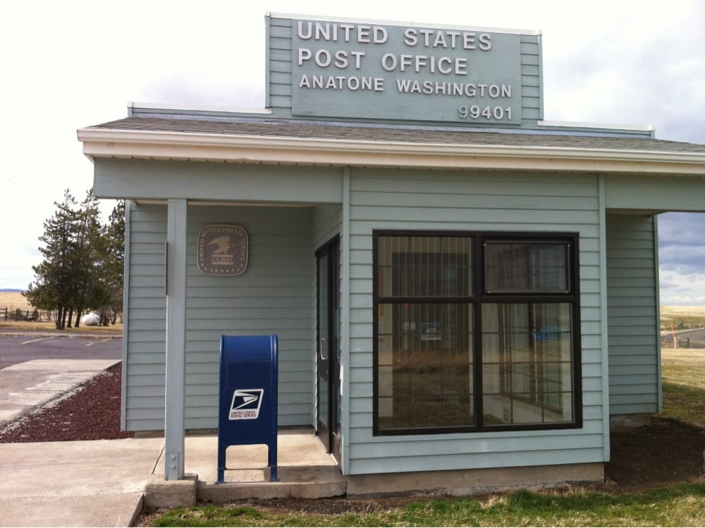 U S Post Office- Anatone: 1128 1st St, Anatone, WA
