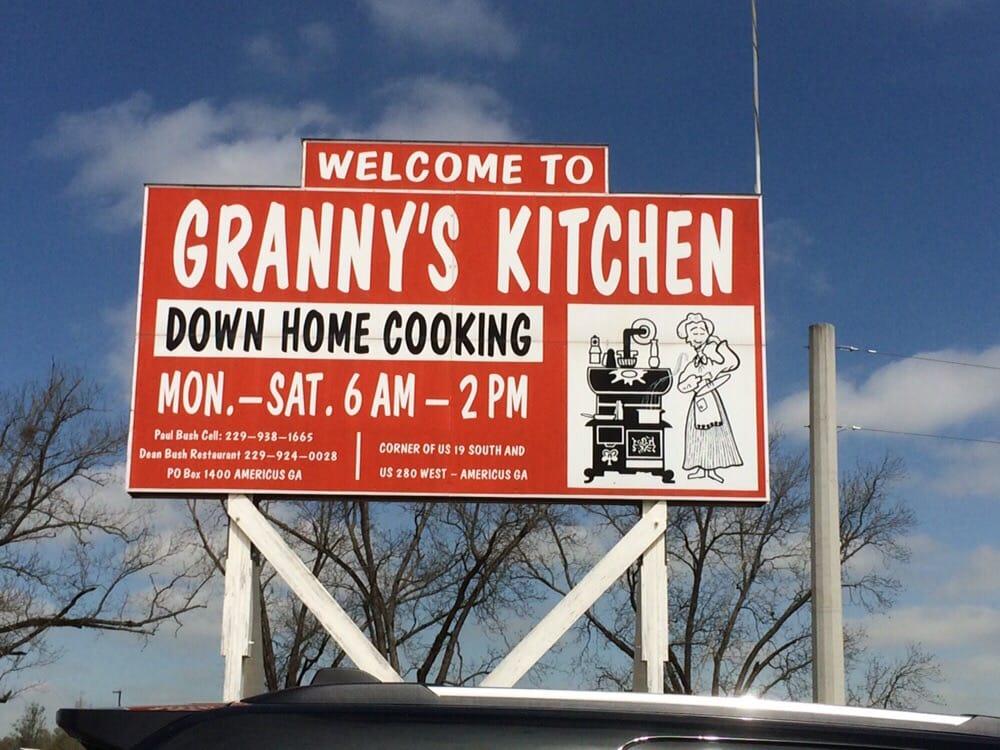 Granny S Kitchen Americus Ga
