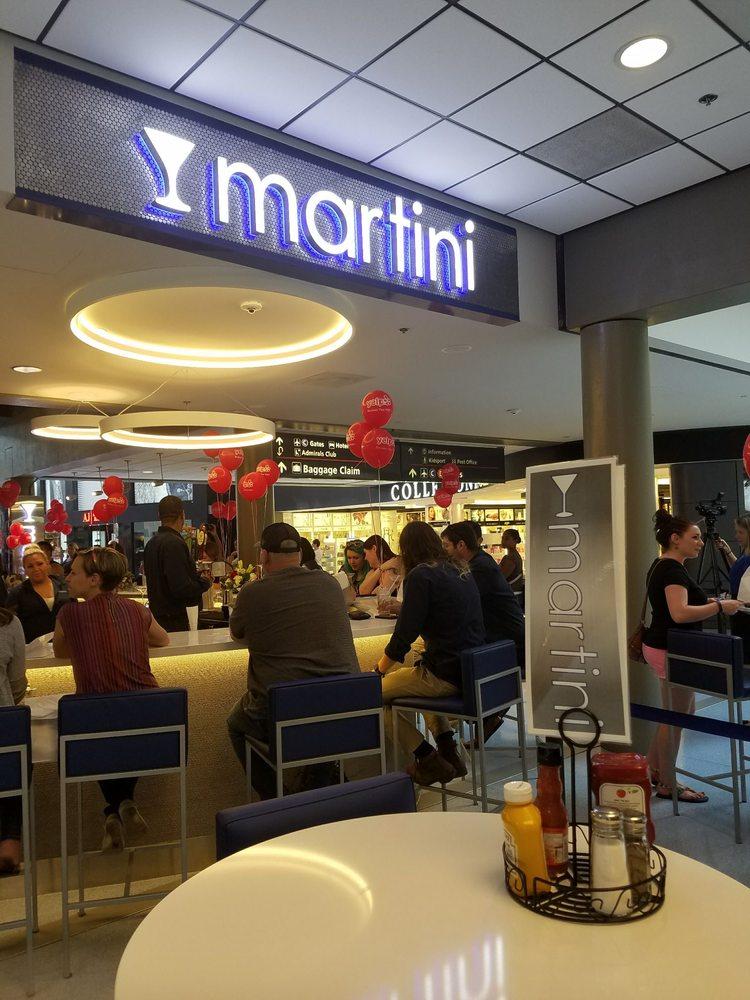 Martini: Pittsburgh International Airport, Pittsburgh, PA