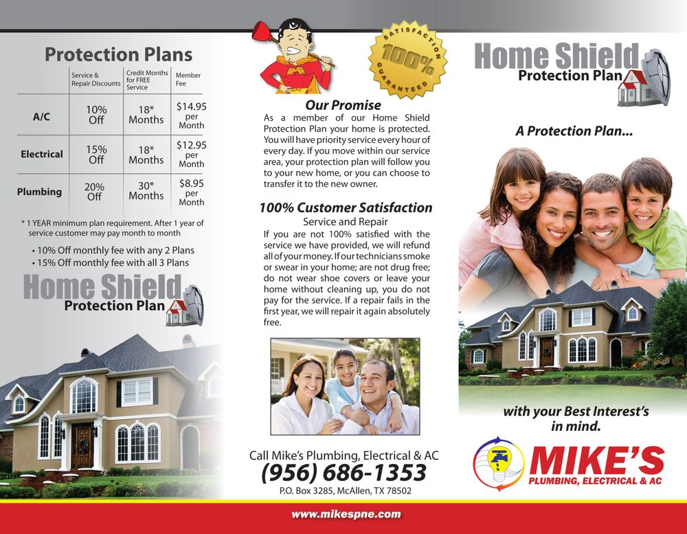 Mike's Plumbing Electrical & HVAC: 3104 N Jackson Rd, Pharr, TX