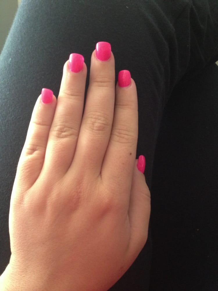 Photo Of Hicksville Nails Ny United States Hot Pink Color Club