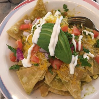 Photo Of 833 Brick Cafe Livermore Ca United States Chilaquiles Spicy