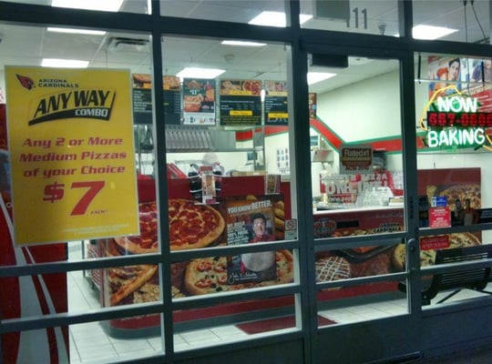 Papa John's Pizza Phoenix AZ locations, hours, phone number, map and driving directions.