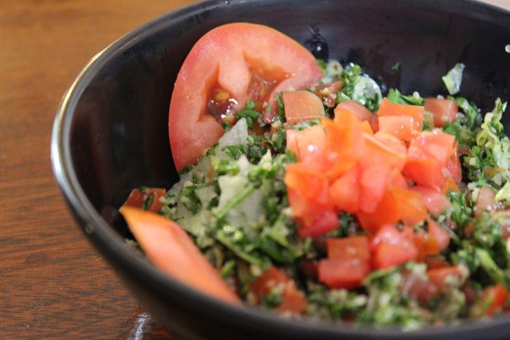 Food from Damas Mediterranean Grill