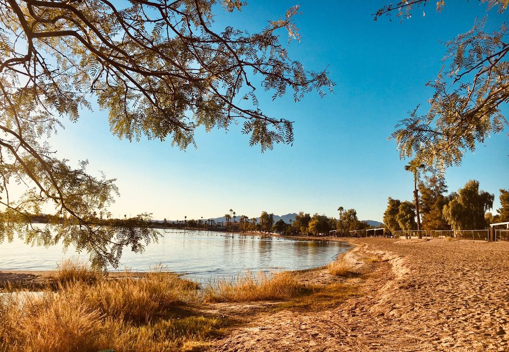 Rotary Park Beach & Playground: 1568 Smoketree Ave S, Lake Havasu City, AZ