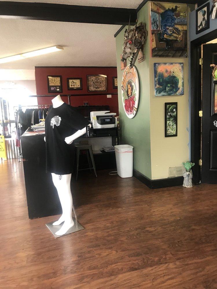 Electric Chair Tattoo: 11591 N Saginaw Rd, Clio, MI