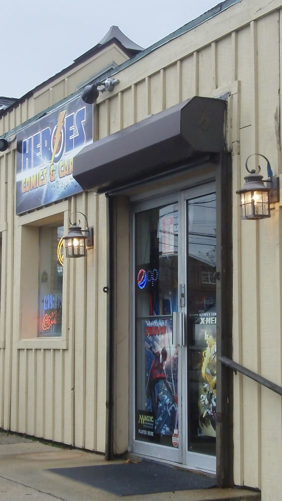 Heroes Comics & Cards: 197 Westport Ave, Norwalk, CT