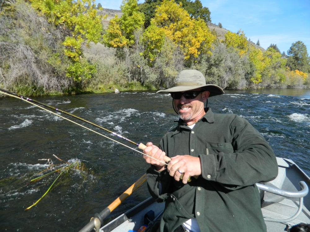 Jack showing me how to fight a chinook on the hook yelp for Fly fishing guides near me
